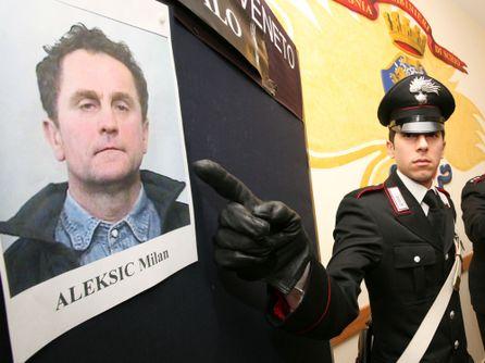 Aleksic Milan, il croato arrestato per molestie