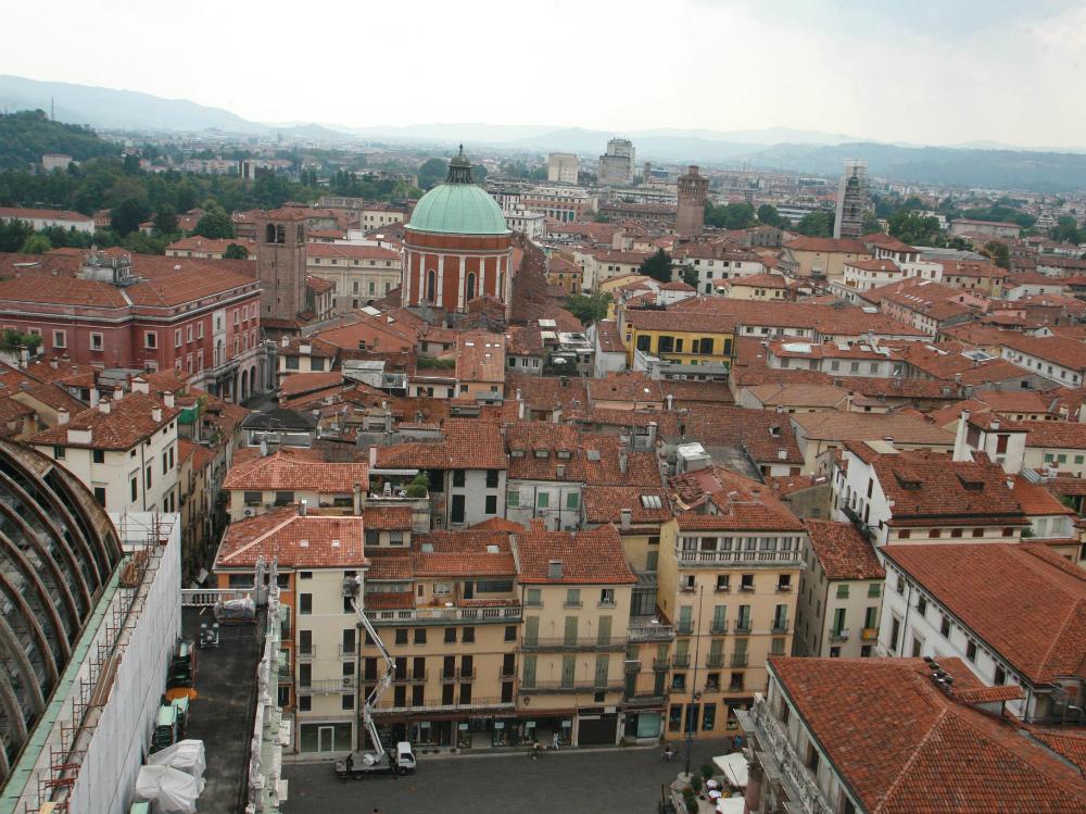 Il Giornale di Vicenza.it - Home - Foto - Foto - Una visione del centro storico di Vicenza