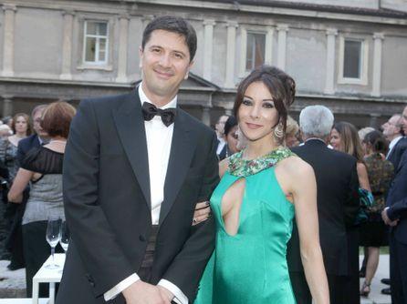 Vito Giacino con la moglie Alessandra Lodi (FOTO D'ARCHIVIO)