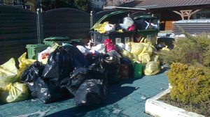 Asiago, Natale e rifiuti