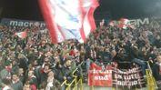 Tifosi biancorossi al Dall'Ara per Bologna-Vicenza